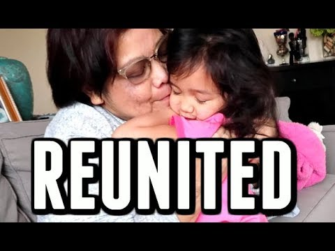 REUNITED WITH MAMA! -  ItsJudysLife Vlogs