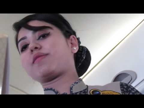 plane journey video