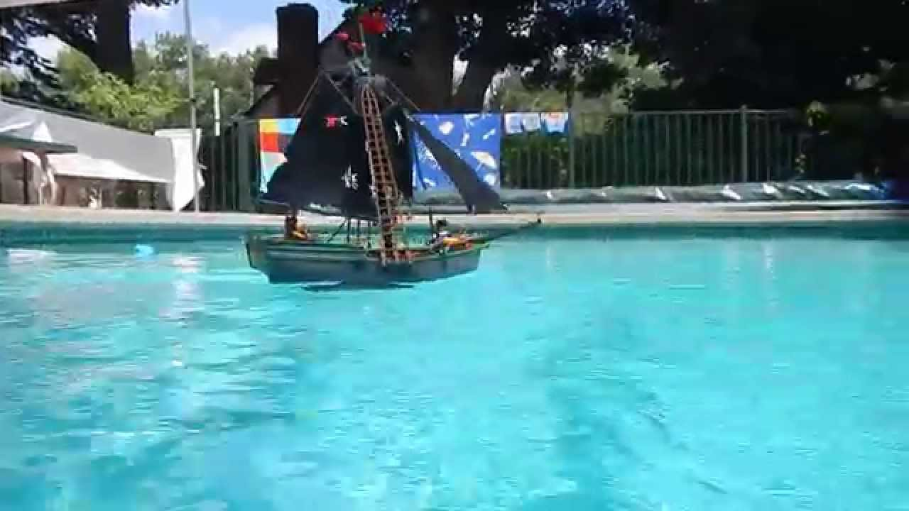Playmobil Remote Control Pirate Ship Youtube