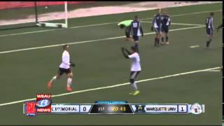Memorial vs Marquette, 1-3, WEAU, 2014-10-31