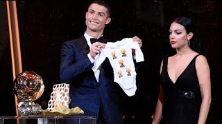 Download Video Cristiano Ronaldo and Georgina Rodriguez in Ballon D'or 2017   Unexpected Gift MP3 3GP MP4