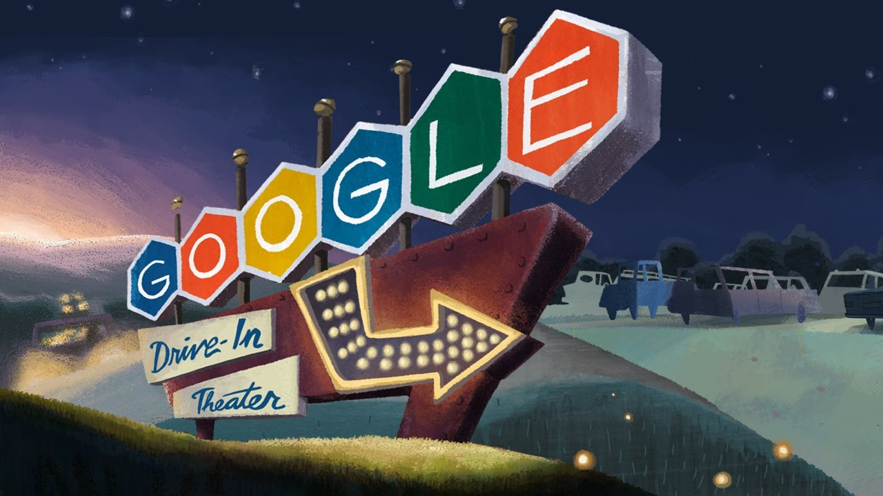 Doodle For The 79th Anniversary Of The 1st Drive In Movie Theater Youtube