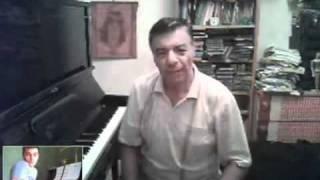 Обучение фортепиано через интернет. Фрагмент урока