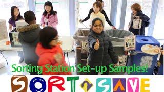 Sorting Station Set-up Samples! (SORT2save Kit)