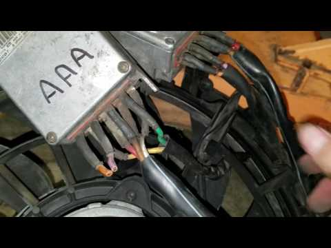 Audi Fan Control Module Wiring - Wiring Diagram Sys