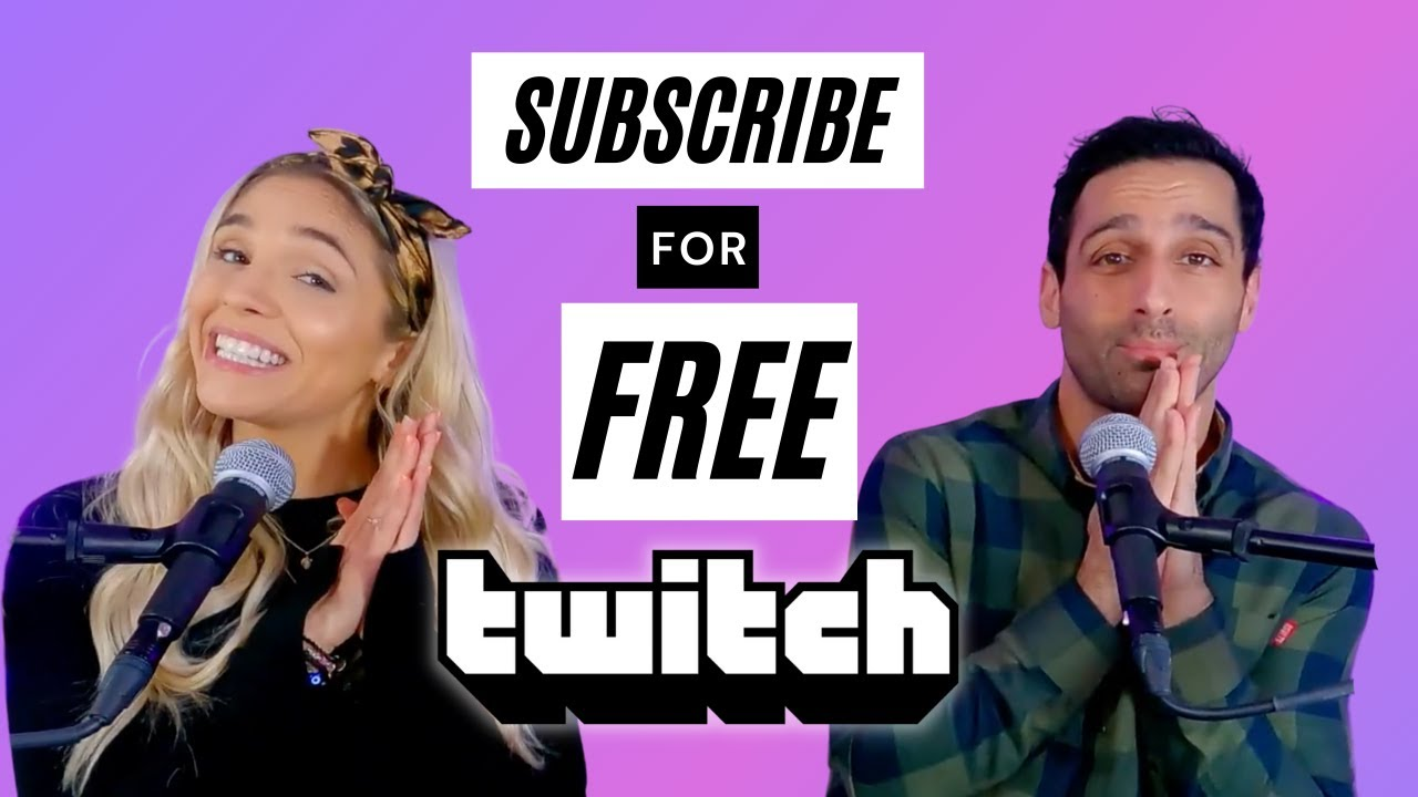 Twitch // How To Subscribe FREE with Amazon Prime