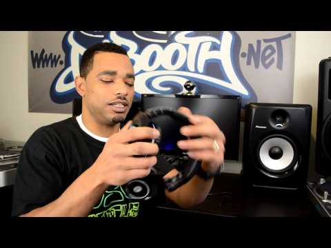 Hercules HDP DJ Light-Show ADV Professional DJ Headphones Review Video