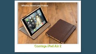Ipad Air 2 Natural Genuine  Leather Case Made In America By Pad And Quill