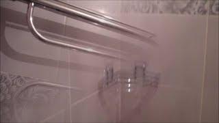 Ремонт Маме друга! Ремонт ванной комнаты с реставрацией наливным акрилом!Плитка от Евро-Керамика