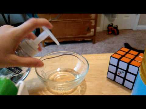 How to make lube for your Rubik's cube and speed cubes