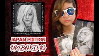 "Unboxing ""Expectations"" album by Bebe Rexha (Japanese Edition)"