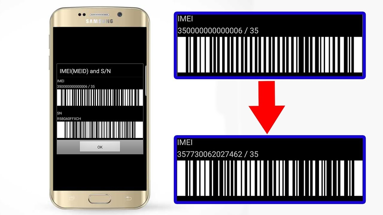 Repair IMEI 350000000000006 Security damaged All Samsung Khmer Version