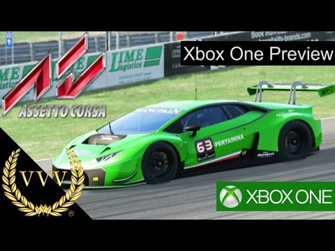 assetto corsa xbox one preview with controller youtube. Black Bedroom Furniture Sets. Home Design Ideas