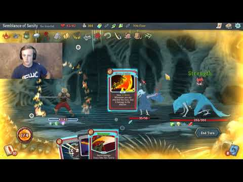 Slay the Spire Lets Play - Ironclad Corruption Combo FINAL BOSS!!