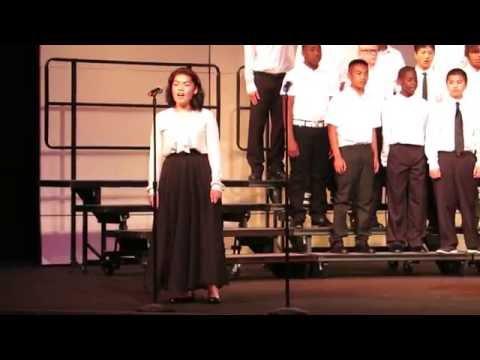 """Brave"" - Elizabeth Pinkerton Middle School 8th grade choir - 5/19/16"