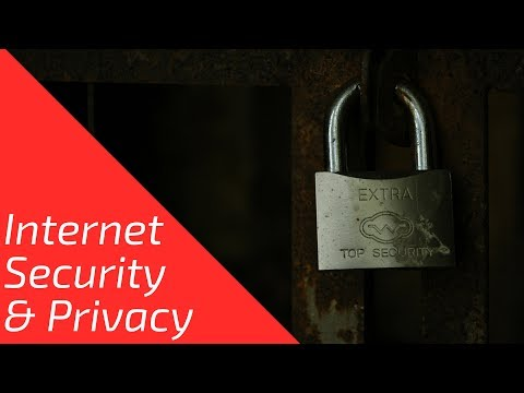 Internet Security & Privacy - What You Can Do To Protect Yourself