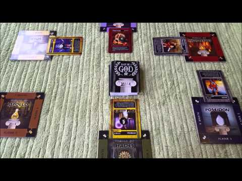 Make Me A God Review - with The Board Game Re