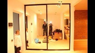 видео Раздвижные зеркальные двери