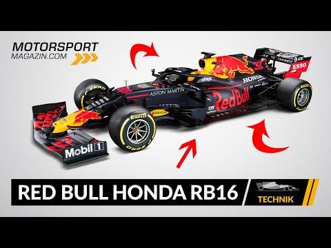 Formel 1 Autos 2020: Red Bull Honda RB16 (Technik-Check)