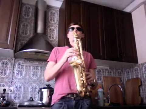 21 guns Green Day  on alto sax