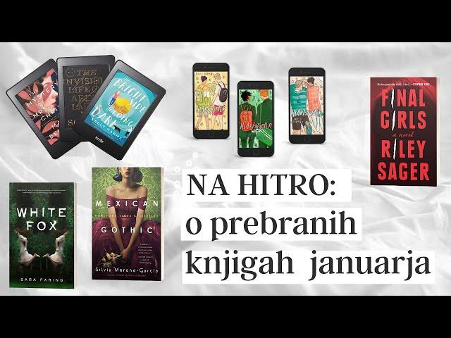 Prebrane knjige v januarju (brez kvarnikov)