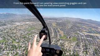 helicopter instrument training 1 and drive from las vegas nv to salt lake city ut