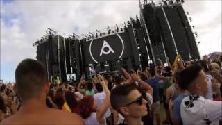 atica arona summer festival 2017 crowd view