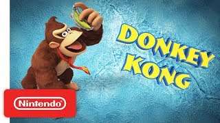 Donkey Kong Country: Tropical Freeze - Meet the Kongs: Donkey Kong - Nintendo Switch
