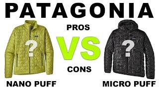 PATAGONIA Nano Puff vs Micro Puff