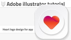 Adobe Illustrator CC tutorial | Create an awesome logo for dating app!