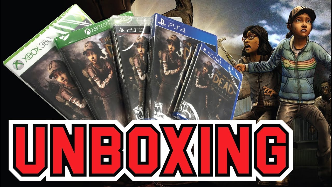 The Walking Dead Season 2 Unboxingpsvita Ps3 Ps4 Xbox360 Xboxone