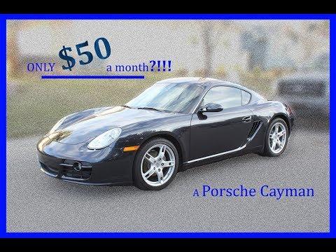 Porsche Cayman only 50/month?!!