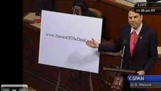 Alan Grayson Honors Those Who Died for Lack of Health Insurance, Launches NamesOfTheDead.com