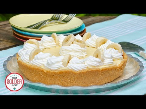15 Minute Banana Cream Pie | No-Bake | Bigger Bolder Baking