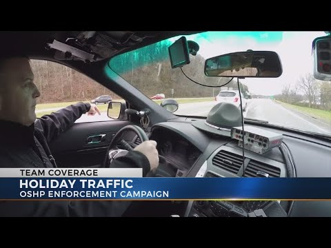 Ohio State Highway Patrol steps up patrols for holiday travel season