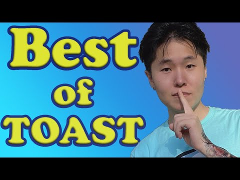 Best Moments of Disguised Toast in Among Us ft. Sykkuno , Pokimane , Valkyrae , Corpse,Hafu,Ludwig..