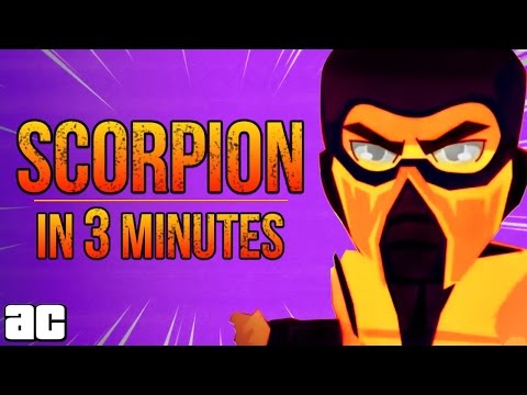Mortal Kombat: The Story of Scorpion from In 3 Minutes | Video Games In 3