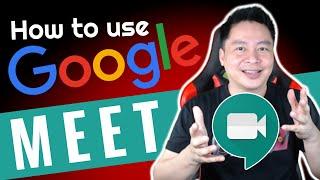 HOW TO USE GOOGLE MEET FOR BEGINNERS ( TAGALOG / ENGLISH ) screenshot 4