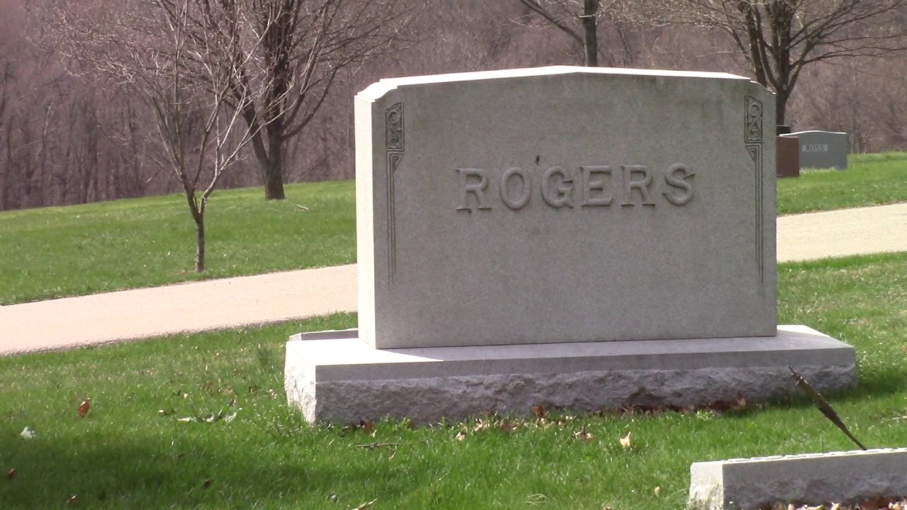 Mr Rogers Grave Youtube