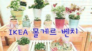 [가구 DIY] 이케아 몰게르 (feat. 미니정원 만…