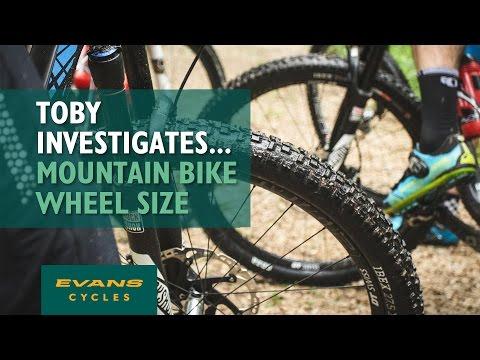 Mountain Bike Wheel Sizes... Toby Investigates