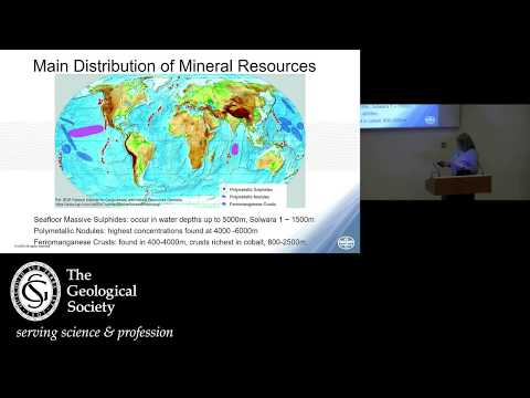 Seabed Minerals - Bryan Lovell Meeting 2019