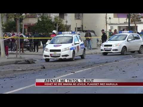 Atentat me tritol të riut në Vlorë - News, Lajme - Vizion Plus