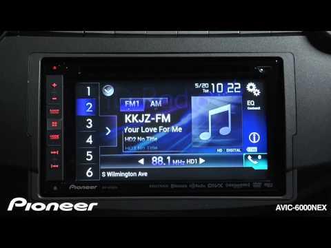 How To - AVIC-6000NEX - Use The HD Radio Tuner