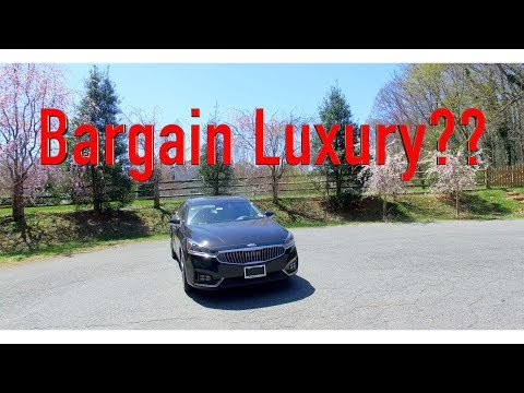 2018 Kia Cadenza Review, The Bargain Luxury Barge You Need!!