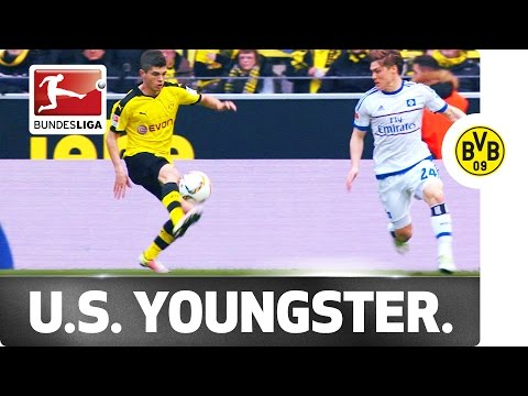 17-Year-Old Christian Pulisic Scores His First Dortmund Goal