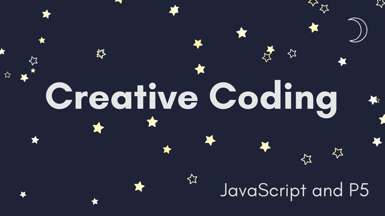 Creative Coding Time Lapse | Falling Stars | JavaScript, p5.js
