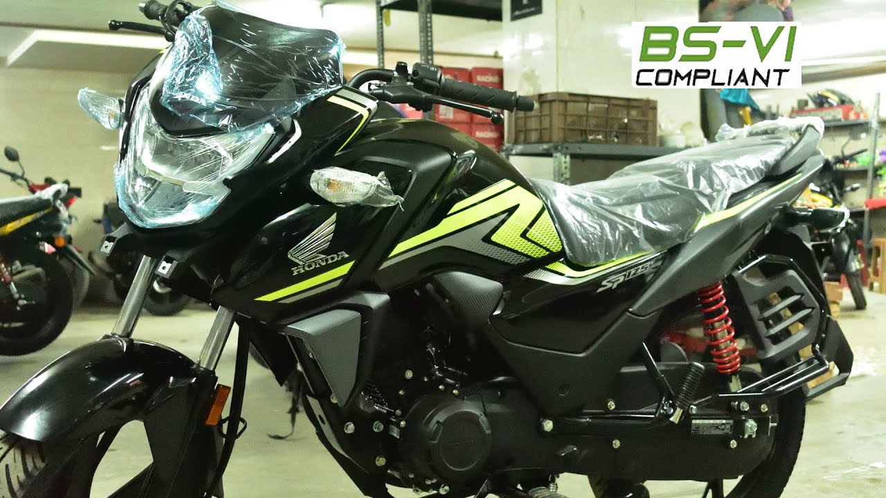 2020 Honda Sp 125 Bs 6 Drum Variant Striking Green Color