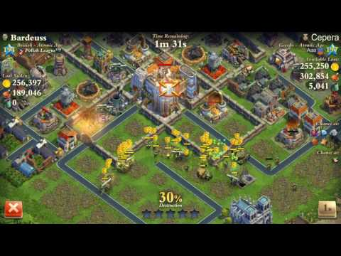 Dominations Level 194 Atomic Age vs Level 197 Atomic Age
