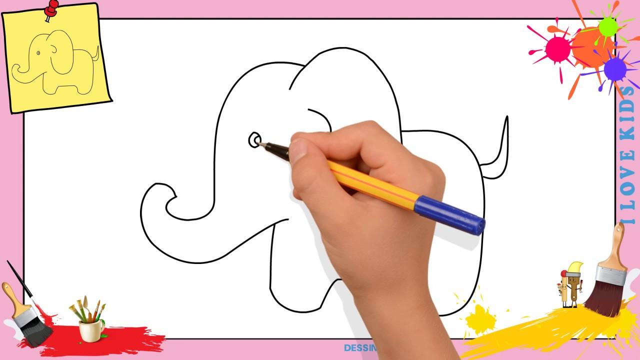 Dessin l phant 3 comment dessiner un l phant - Comment dessiner un elephant facilement ...